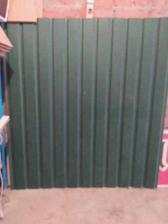 Металопрофіль 1,30м*1,20м*0,5мм, зелений, 1 лист новий