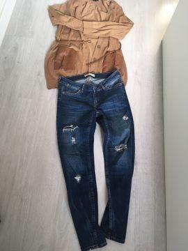 Spodnie ZARA + sweter H&M