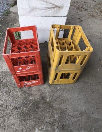 Ящики: Coca-cola 2шт и InBev 4шт