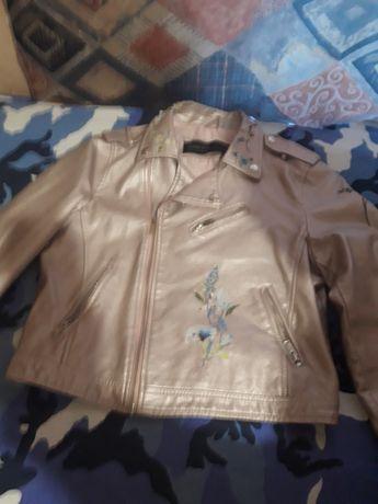 Куртка ветровка эко кожа