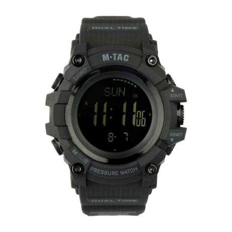 Тактические часы M-tac Adventure Black/Olive/Orange