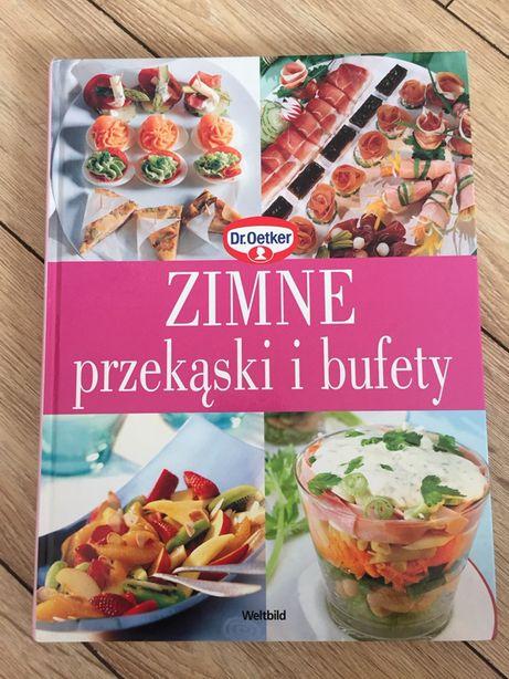 Książka kucharka Zimne przekąski i bufety. Oetker