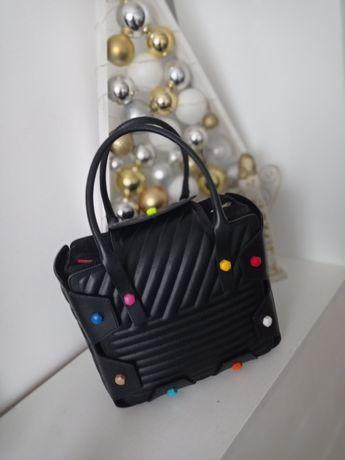 Hymy Bag standard czarny stitch