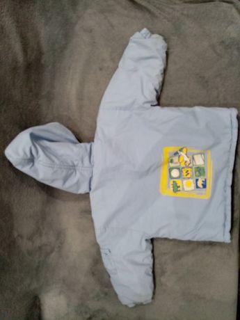 Kurtka  zimowa i spodnie ocieplane dla chłopca