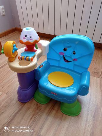 Krzesełko liczydełko, krzesełko interaktywne Fisher Price