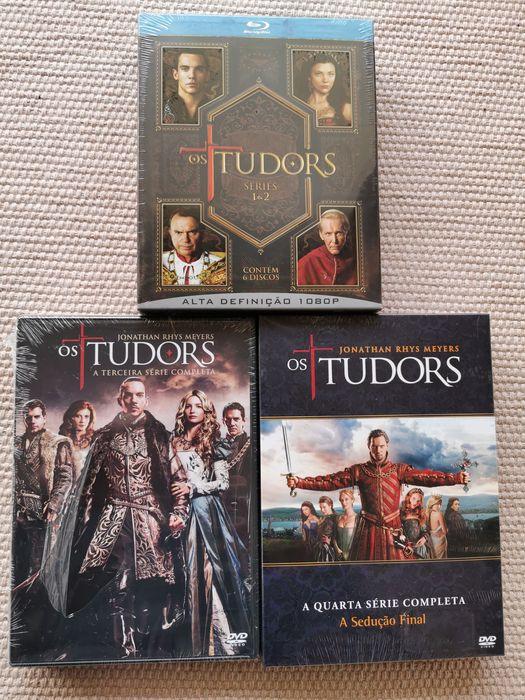 Blu-Ray- Os Tudors T1+T2+T3 Chafé - imagem 1