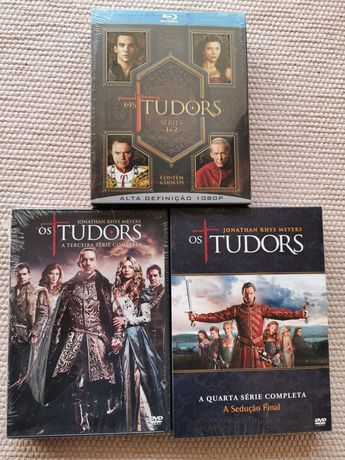 Blu-Ray- Os Tudors T1+T2+T3