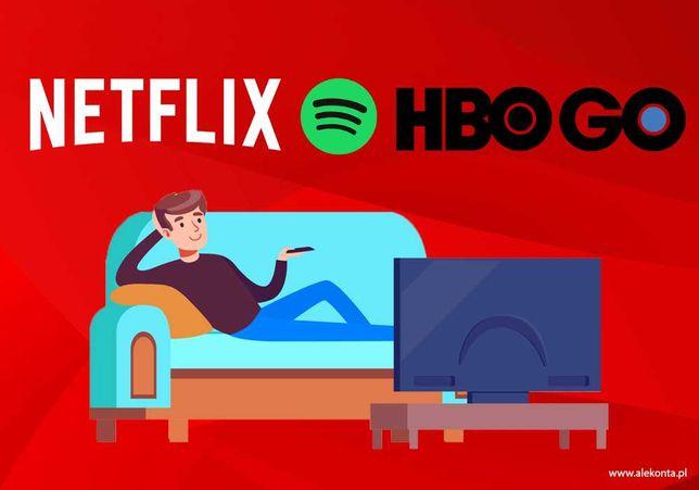 NETFLIX 4K | HBO GO - polskie konto- AUTOMAT 24/7 Taniej nie kupisz!