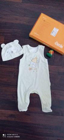 Человечек для новорождённого Бемби Bembi с шапочкой