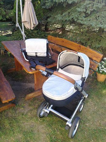 Mutsy i2 Pure gondola + akcesoria.