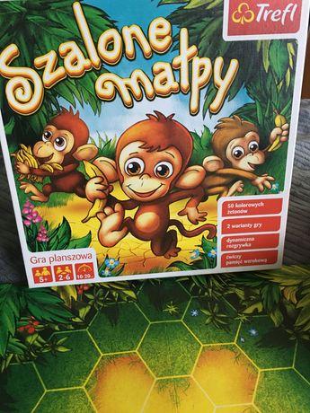 Gra planszowa  Szalone małpy Trefl dla dzieci 5+