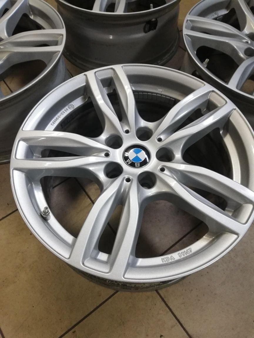 Felgi + czujniki 17 5x112 ET27  BMW Seria 3,5 G30 G31 G20 G21