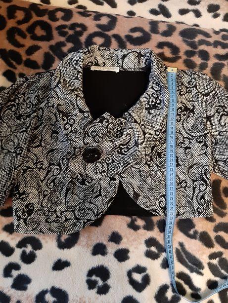 Пиджак-болеро укороченный