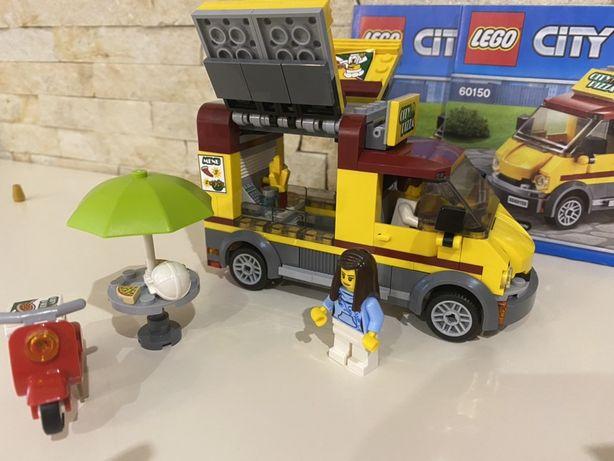 Lego Лего конструктор 60150 фургон пиццерия