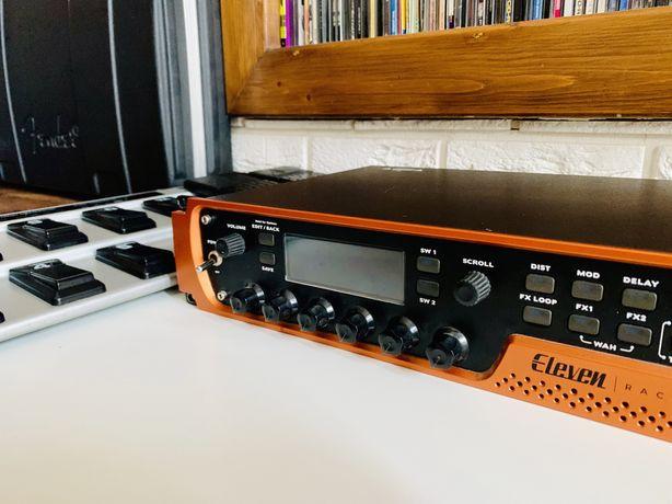 Eleven Rack + Behringer FCB1010 l procesor gitarowy, kontroler