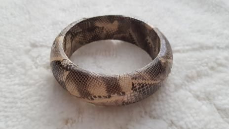 Bransoleta bransoletka szeroka wąż wysyłka