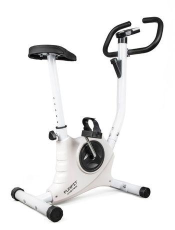 Rower treningowy mechaniczny Funfit biały F05 Rowerek treningowy