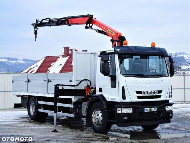 Iveco Eurocargo 180e28 E5 Skrzynia 7,00m+Hds