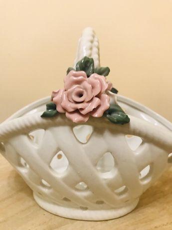 Porcelanowy koszyk