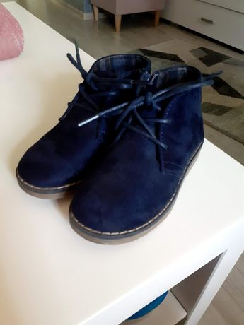 Buty zamszowe dziecięce