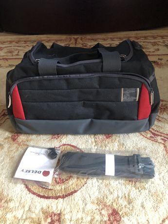 Новая спортивная ( дорожная) сумка Delsey