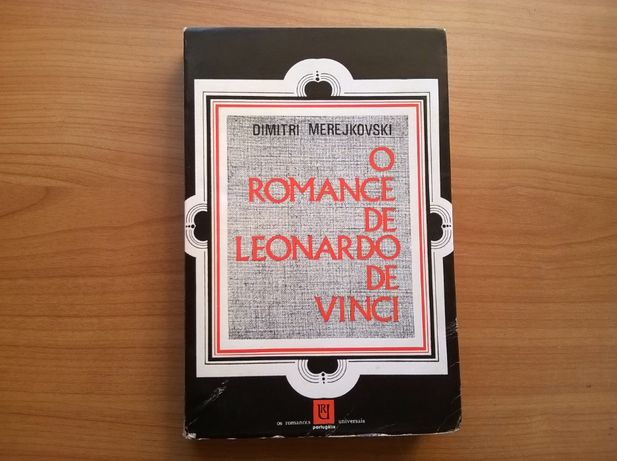 """""""O Romance de Leonardo de Vinci"""" - Dmitri Merejkovski"""