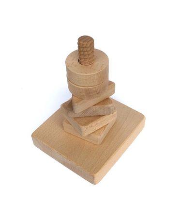 Nakręcanka drewniana, terapia ręki, mała motoryka, integracja si-is