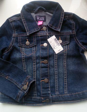 Джинсовая куртка, джинсовый пиджак Children's Place для девочки 4, 5