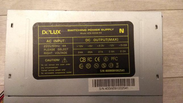Блок питания DELUX atx 400w