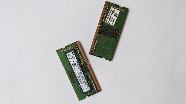 Оперативка в ноутбук Samsung DDR 4, 8gb(2x4) 2666 MHz