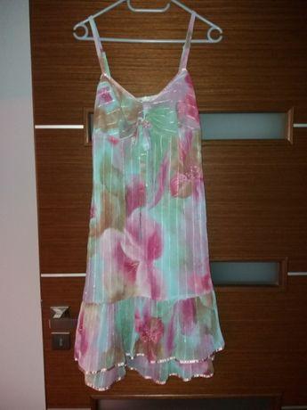 Sukienka kwiaty 36 S