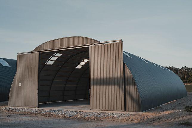 Hala łukowa magazyn wiata hangar NOWA