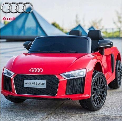 Autko Samochodzik na akumulator dla dzieci Audi R8 z Pilotem Nowe