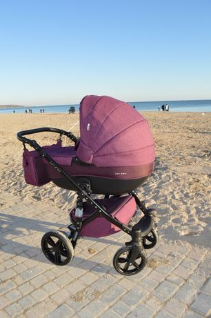 Детская коляска 2 в 1 Riko Brano Natural 03 Purple
