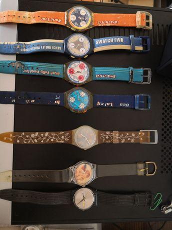 7 relógios Swatch (coleção)