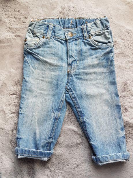 Spodnie jeansy HM rozm. 68