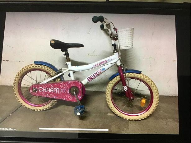 Bicicleta de criança a 5 até 10 anos