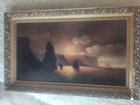 Шикарная картина маслом 80×50