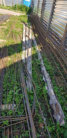 Szyny kolejowe po rozbiórce