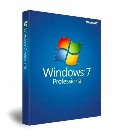 Windows 7 Professional 32/64 Bit Klucz wys. Email