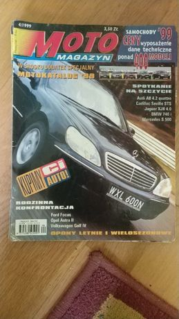 MotoMagazyn 1999/4, 5, 7, 9; 2001/1-4
