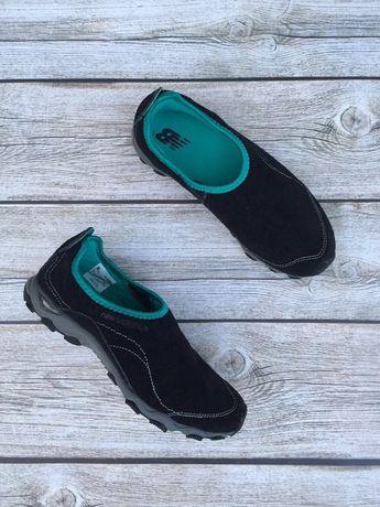 Замшевые кроссовки мокасины New Balance 26 cm