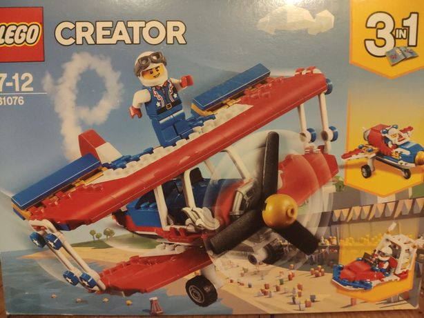 Lego samolot odrzutowiec 31076