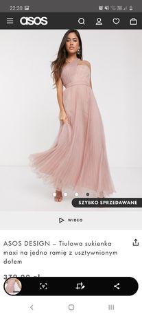 Nowa sukienka ASOS r. 44 brudny róż