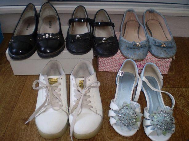 Продам туфли, кроссовки для девочки 33-37 размер