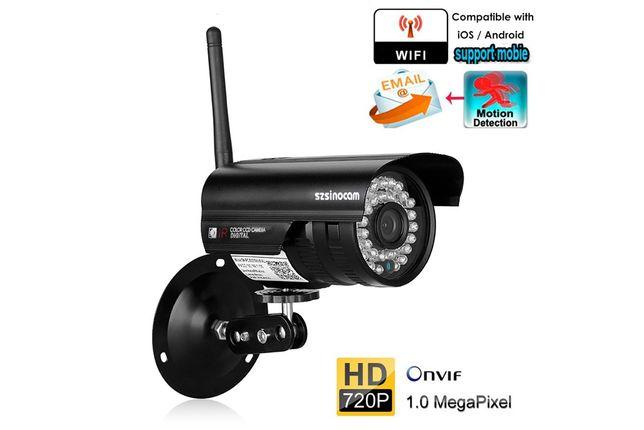 Camera Vigilância Prova de Agua Wireless Visao Noturna 1080P 2MP