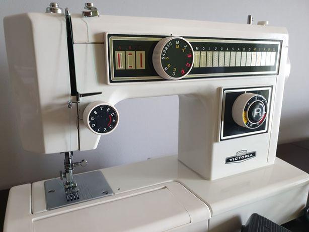 Maszyna do szycia Victoria niemiecka wielofunkcyjna po przeglądzie