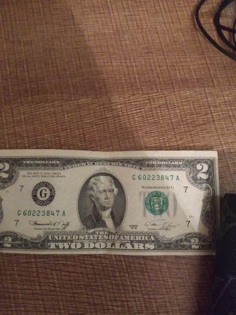 Продам 2 долари 1976