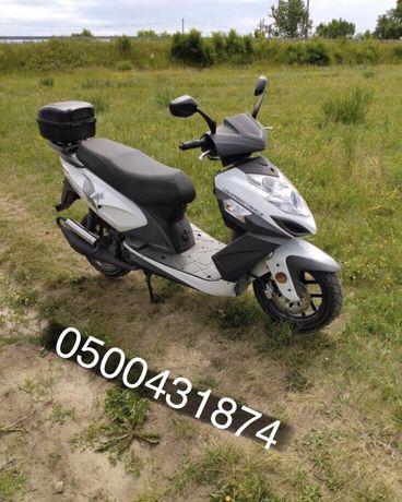 Продам скутер мопед 150 кубов . Стан Ідеал