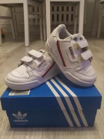 Buty białe adidas